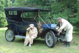 The Jaehnerts and their 1912 E-M-F Touring