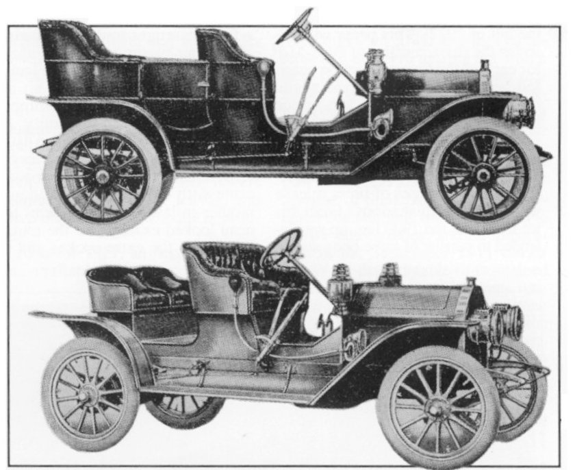 1909 EMF Touring and Roadster