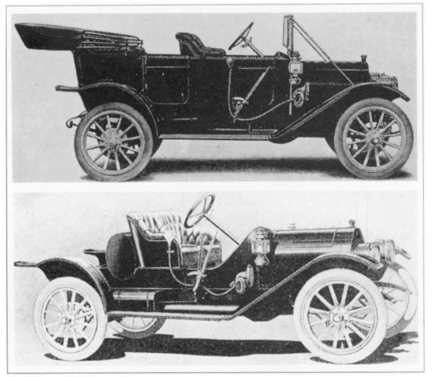 1911 EMF Touring and Roadster