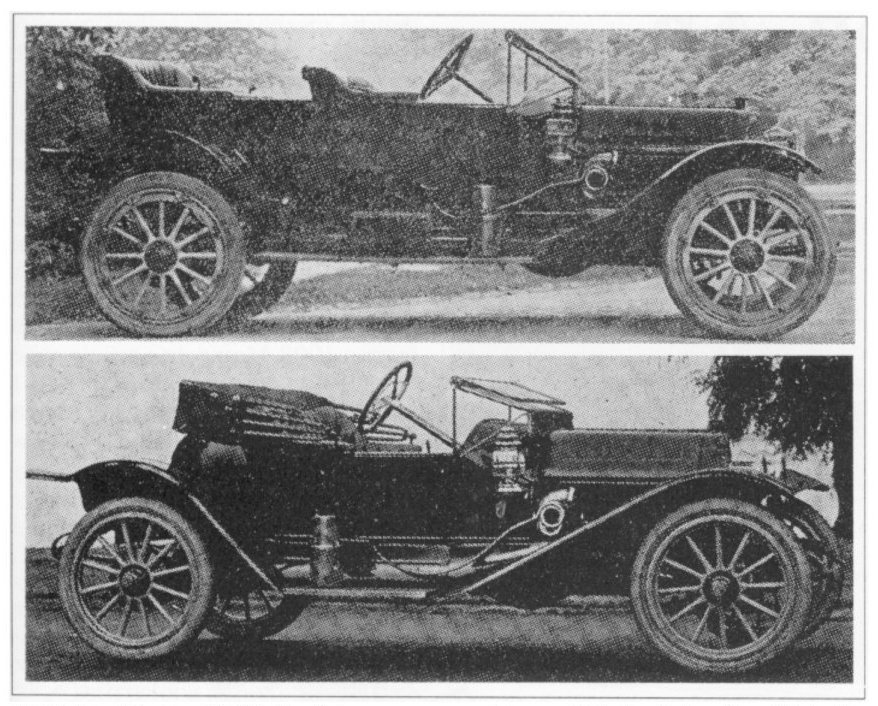 1912 EMF Demi Tonneau and roadster
