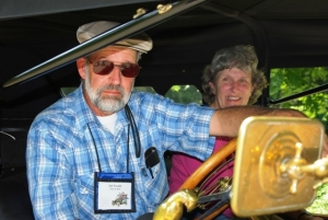 Joe and Betty Swann keep on touring after their transcon