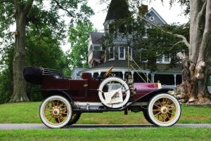Michael McRee's 1910 E-M-F at Auburn Heights Preserve