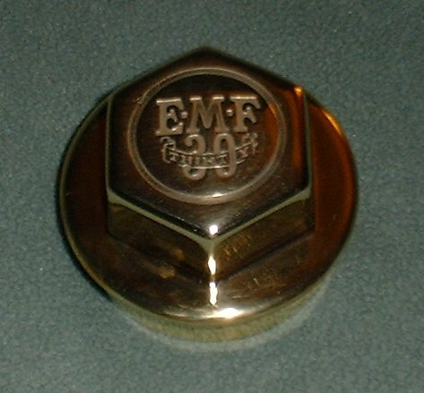 EMF Hubcap After Restoration