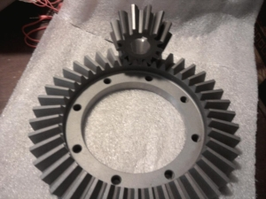 New ring and pinion gears